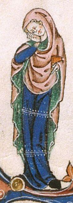 The Gorleston Psalter Date 1310-1324 Add MS 49622 Folio 64v