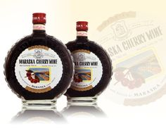 Maraska Cherry Wine is a delightful, sweet fruit wine made from the world famous Marasca cherries that are only grown in Croatia.
