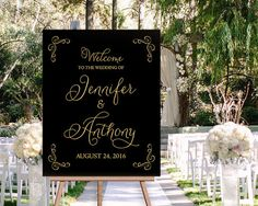 Hey, I found this really awesome Etsy listing at https://www.etsy.com/listing/287340537/personalized-black-and-gold-wedding