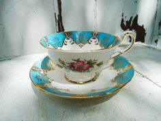 Tea Cups! I want to have all different designs and store them in an antique hutch! One day, one day!