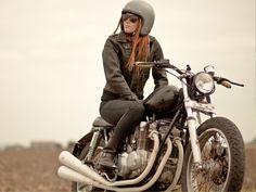 The Cafe Racer | Belstaff Motorcycle Jackets | Barbour | Deus ex ...