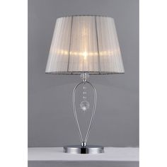 Chris Crystal Table Lamp - Overstock™ Shopping - Great Deals on Warehouse of Tiffany Table Lamps