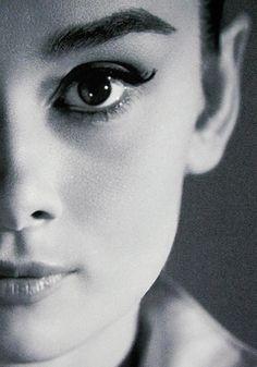 Audrey's close-up