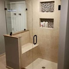 Trendy bathroom remodel shower walk in layout 23 ideas Small Bathroom With Shower, Small Showers, Bathroom Design Small, Master Bathroom, Small Bathrooms, Corner Showers, Shower Bathroom, Master Shower, Vanity Bathroom