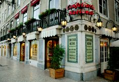Beautifull and traditional cafe in Lisbon. Best pastries in town - Can't wait -5 weeks time!!