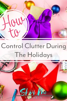 Don't let a messy house ruin your holidays! These 5 easy and practical tips showed me how to reduce clutter during the holidays, from Halloween all the way through Christmas. Thanksgiving Traditions, Thanksgiving Sides, Thanksgiving Desserts, Thanksgiving Decorations, Christmas Traditions, Christmas Gifts, Christmas Decorations, Organized Entryway, Organized Kitchen