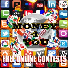 MONEY FOR YOU FREE ONLINE CONTESTS PRIZES UP BY 100,000 USD EARN MONEY IN YOUR SOCIAL NETWORK