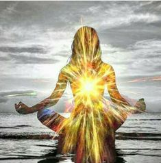 Sending my energy of love and light and healing to you. The only way I am allowed to converse in the silence. God is great Spiritual Images, Spiritual Quotes, Les Chakras, Mystique, Psychedelic Art, Yoga Meditation, Love And Light, Sacred Geometry, Namaste