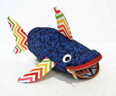 Shark pencil case!