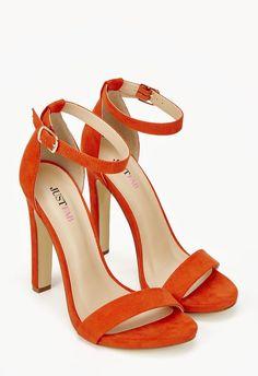 Kati Schuhe in Orange - günstig kaufen bei JustFab · Orange Heeled ...