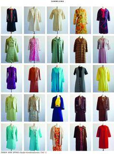 Mode hat was zu erzählen: Kleider-Kombinationen von Tania van Spyks, einer der 561 befragten Frauen