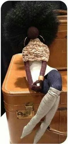 Afro-centric  doll