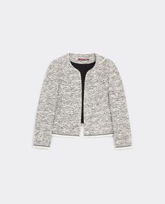 Tweed jacket Bibace_0005 Bibace Tweed Jacket, Women Wear, Athletic, Winter, Jackets, Shopping, Fashion, Winter Time, Down Jackets