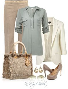 """""""For The Office - #14"""" by in-my-closet on Polyvore"""