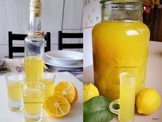 Limoncello rețeta italiană de lichior de lămâie preparat acasă   Savori Urbane Beverages, Drinks, Deserts, Water Bottle, Health, Limoncello, Food, Mint, Syrup