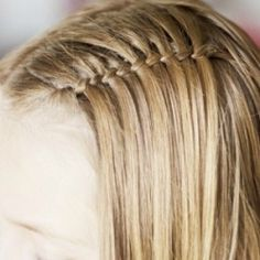 Create this beautiful twist in a few simple steps with this great video tutorial! This would be fun for a little girl's short hair.