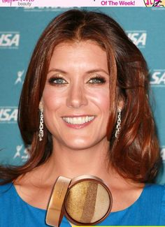 Kate Walsh Wears The Most Gorgeous Golden Eyeshadow Look -- Re-Create It At Home!