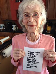 This woman just turned 97 and she has some advice to share