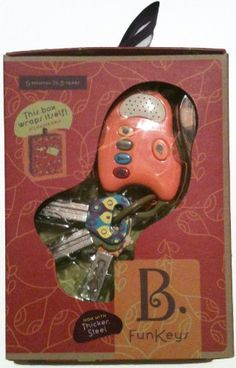 Amazon.com: B. Fun Keys - Papaya: Toys & Games