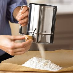 Traditional Flour Sifter | Williams-Sonoma