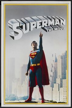 Superman the Movie (DC Comics, Personality Poster X Action. Starring Marlon Brando, - Available at Sunday Internet Movie Poster. Comic Superman, Superman Poster, Superman Movies, Superman Family, Dc Movies, Good Movies, Movie Tv, Teen Movies, Hero Movie