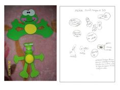 sapito fofuchito y plano (de la web) http://manualidadesamigas.foroargentina.net/