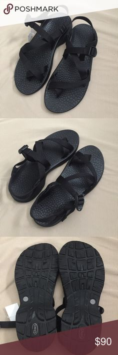 NEW with tags! Chaco black men's sandals! Chacos size 12 men's! NWT!! Chaco Shoes Sandals & Flip-Flops