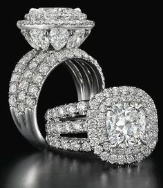 Charles Elliott Krypell diamond ring.
