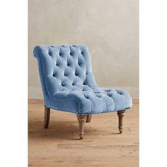 Perfect Fauteuil Capitonne En Velours Bleu Canard 1000 0 39 166294_1 | Entrée Villa  | Pinterest