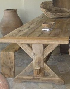 Artefact Design and Salvage Wooden Trestle