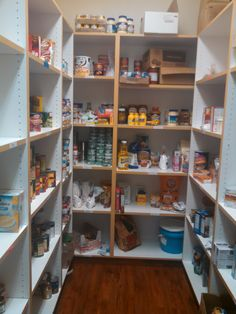 Pantry is in kitchen.