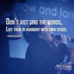 Join Worship Team Training for daily posts to encourage and provide practical insights for you and your team!  #Facebook http://buff.ly/1eMS0en #Twitter: https://twitter.com/WorshipTT #Instagram http://buff.ly/1gbBR1G #Google+ http://buff.ly/1fk0vcJ  WTT eNews Subscribe: http://buff.ly/1g7JIwb  #WorshipTeamTrainingHangout  https://www.youtube.com/WorshipTeamTraining  Inspire Your #WorshipTeam with a Workshop http://www.worshipteamtraining.com/Registration