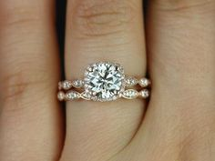 like the band design. want a different color stone. -care 45 Stunning Engagement Rings That Won't Break the Bank