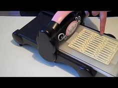 Paper clip embossing