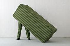 Standing stripes, 2015, sculpture Guda Koster www.gudakoster.nl