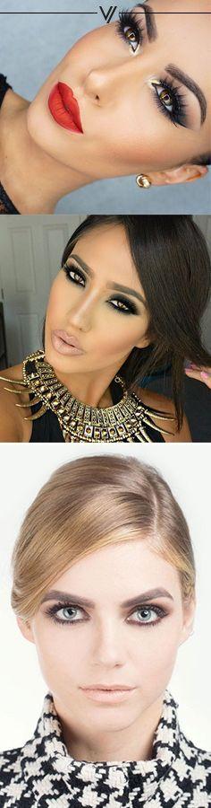 Prom Glam Makeup and Hair Gorgeous Makeup, Love Makeup, Makeup Tips, Beauty Makeup, Makeup Looks, Prom Makeup, Wedding Makeup, Hair Makeup, Night Makeup