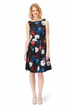 Floral Bouquet Dress at Long Tall Sally, your number one fashion retailer for tall womens clothing #tallgirl #tallwomen #tallfashion