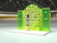 2014 Stand Design, Set Design, Wedding Walkway, Exhibition Booth Design, Event Organiser, Backdrops, Diy And Crafts, Photo Wall, Display