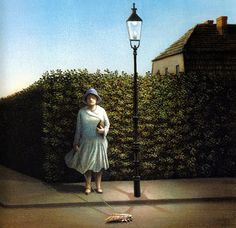 Michael Sowa German Artist ~ Blog of an Art Admirer Michael Sowa (born 1945) is a German artist known mainly for his paintings, which are variously whimsical, surreal, or stunning.More Pins Like This At FOSTERGINGER @ Pinterest