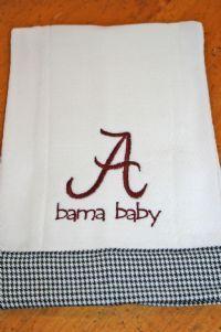 Bama Baby burping pad..got at a craft show