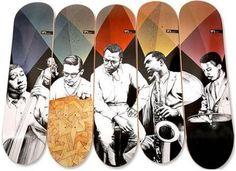 skate deck art - Pesquisa Google