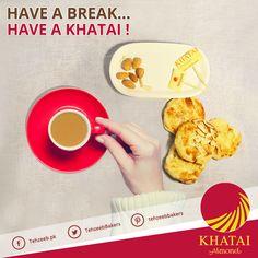 Have a break. Have a Khatai! #AlmondKhatai #TehzeebBakers
