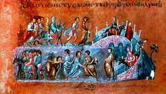 The Vienna Genesis (Vienna, Österreichische Nationalbibliothek, cod. theol. gr. 31) is an illuminated manuscript, probably produced in Syria in the first half of the 6th century. It is the oldest well-preserved, surviving, illustrated biblical codex.
