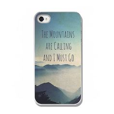 iPhone 4 4S, iPhone 5 5S, Samsung Galaxy, iPad 2 3 4, Kindle Fire, hard case, inspirational quote, gift idea, photography, blue mountains