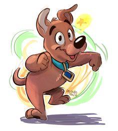 Scrappy Doo or Baby Scooby Doo Cartoon Drawings, Cartoon Art, Cartoon Characters, Scooby Doo Images, Scooby Doo Mystery Incorporated, Shaggy And Scooby, Favorite Cartoon Character, Cute Cartoon Wallpapers, Disney Art
