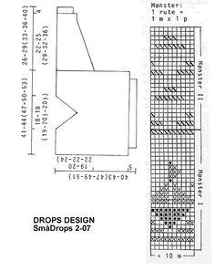 """DROPS Children 2-7 - DROPS Trui van """"Paris"""" met botenpatroon. Maat 3-12 jaar. - Gratis patronen van DROPS Design"""
