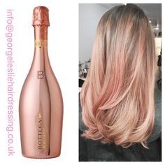 Rose gold ombre reds hair, blonde hair et dyed hair Ombre Rose Gold, Rose Gold Hair, Pink Hair, Beleyage Hair, Hair Day, Love Hair, Great Hair, Hair Highlights, Ombre Hair