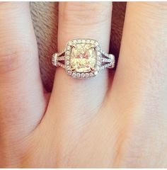 Love the warm color of this diamond. (just for coloring ideas)