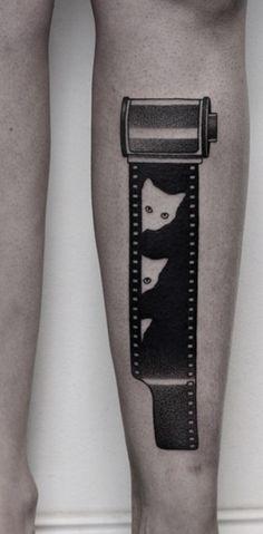 Movement tattoos by Ilya Brezinski