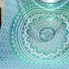 Hippie round mandala tapestry Indian wall hanging decor beach throw towel yoga mat. Material: Polyester. High quality fabrics, beautiful multi-color printed pattern. A must have in any season. Photo color might be a little different from the actual product due to color display of different monitors. | eBay!